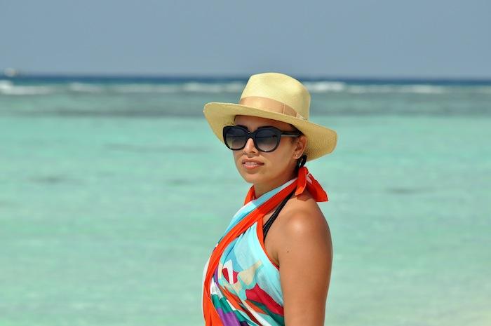 L'island Hideaway | Maldives | LovaLinda x Sea x Hermès x Thierry Lasry x Pachacuti Hat