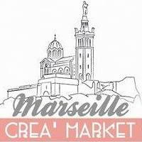 Marseille Crea Market Logo | Lovalinda