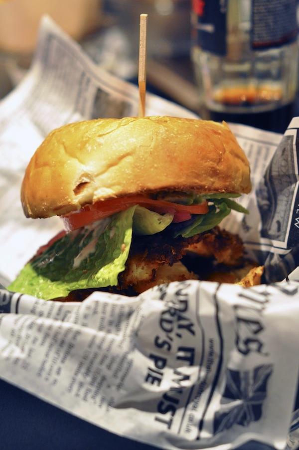 Le Burger's Banquet | LovaLinda x Chicken Burger