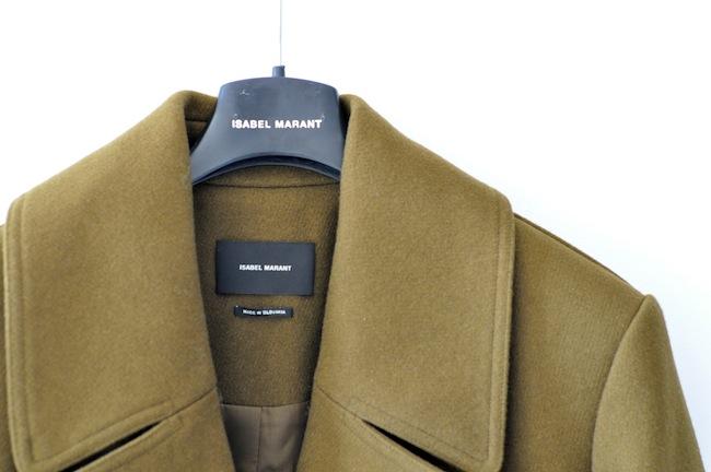 Le Ziggy pas comme les autres | LovaLinda x Ziggy Double Breasted Coat by Isabel Marant