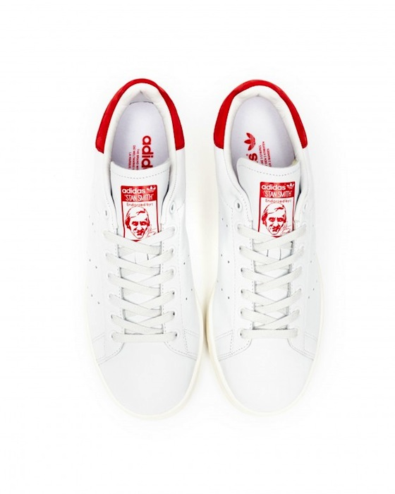 adidas stan smith enfants rouge