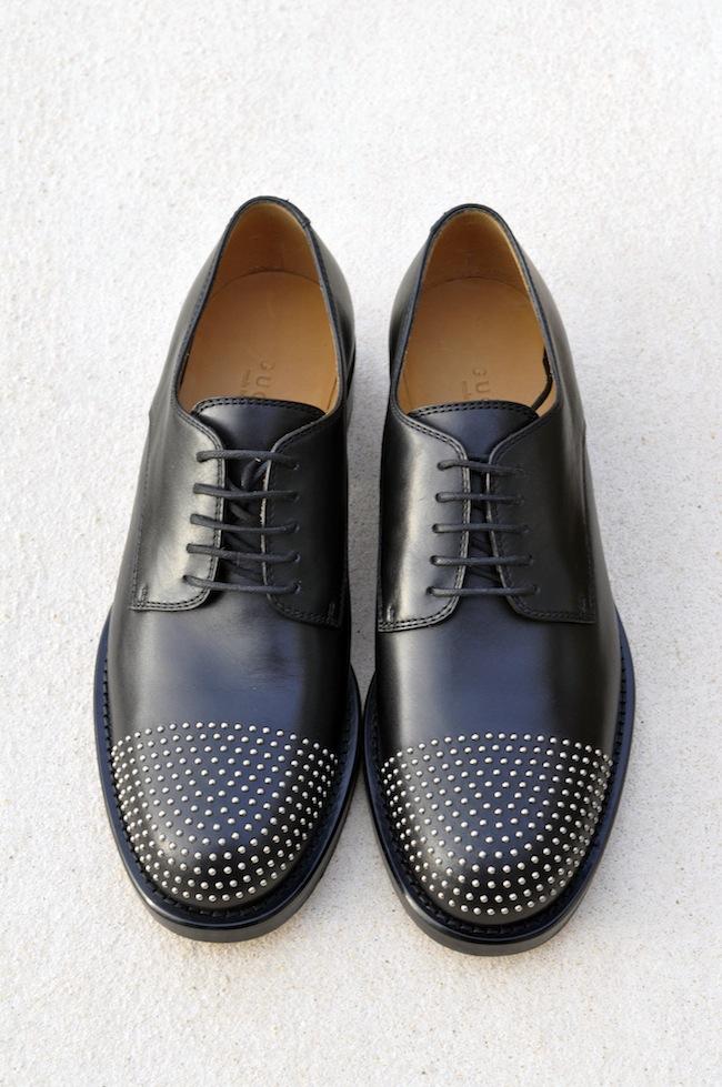 Les Margarett de Gucci | LovaLinda x Gucci Margarett Studded Leather Brogues