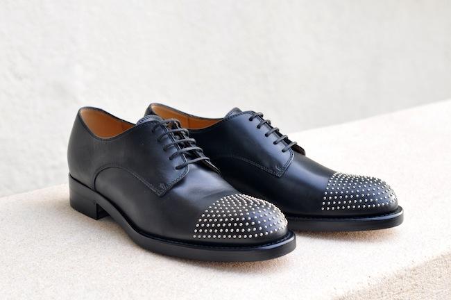 Les Margarett de Gucci | LovaLinda x Gucci Studded Leather Brogues