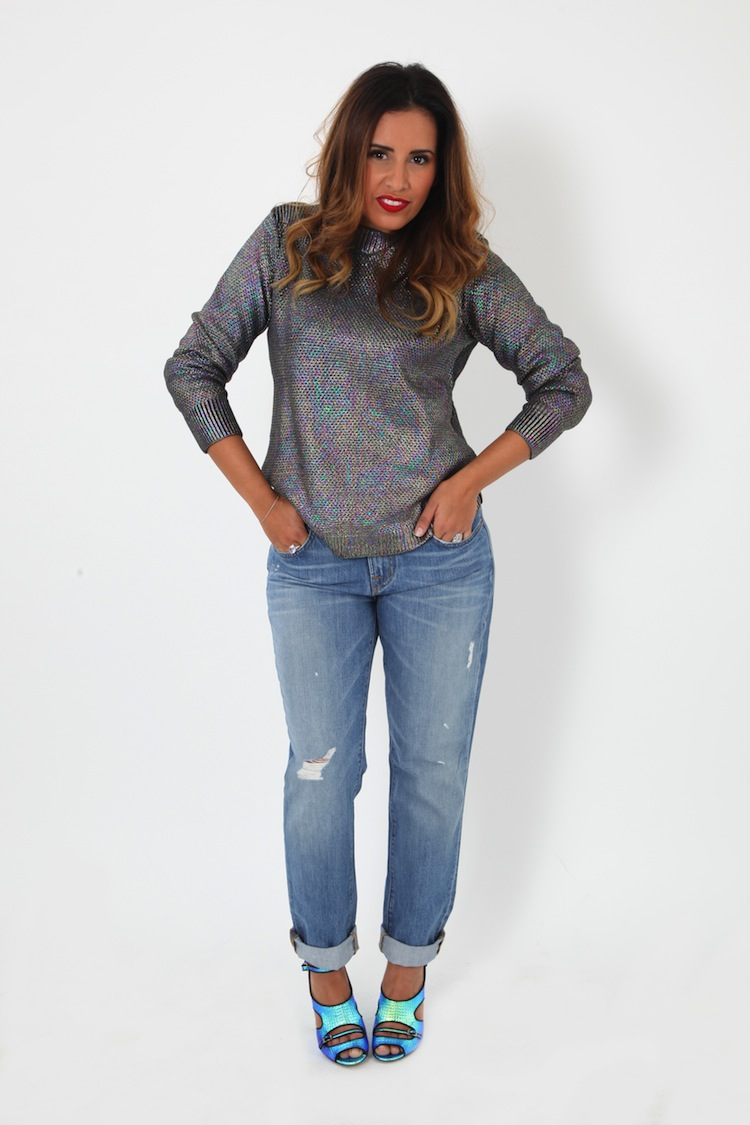 L'Uncle Jeans | LovaLinda x UncleJeans.com x Jeans Gemini JBrand Bleu x Pull M-Shiva Diesel x Sandales Bailey Tabitha Simmons