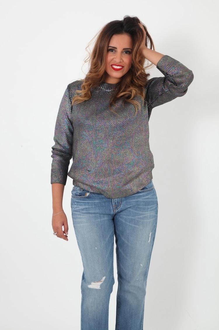 L'Uncle Jeans | LovaLinda x UncleJeans.com x Jeans Gemini JBrand Bleu x Pull M-Shiva Diesel