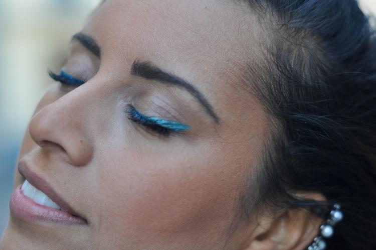 La Futuristic Working Girl | LovaLinda x  Asos Boucle de Lobe d'oreille:Earcuff x MUFE Eye-liner