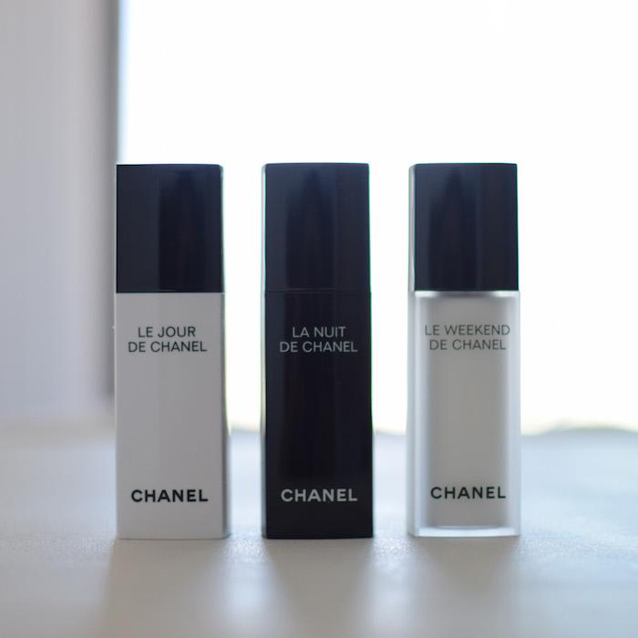La trousse de toilettes de voyage | LovaLinda x Blog Beauté x Chanel Trio - copie