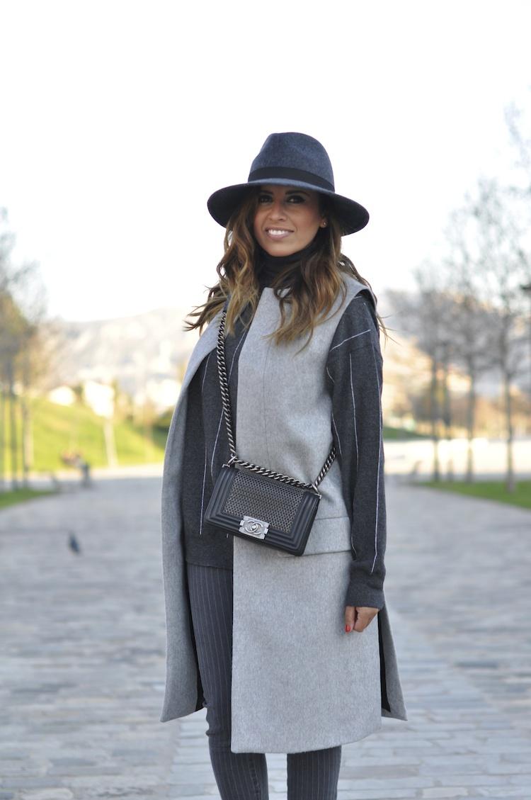 L'atout gris   LovaLinda x Blog Mode Look Marseille x French Connection x Zara x Stella McCartney x Chanel Boy