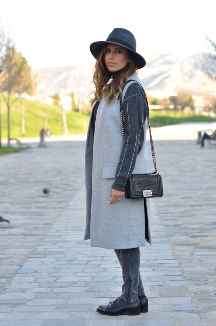 L'atout gris   LovaLinda x Blog Mode Look Marseille x French Connection x Zara x Stella McCartney x Gucci x Chanel Boy