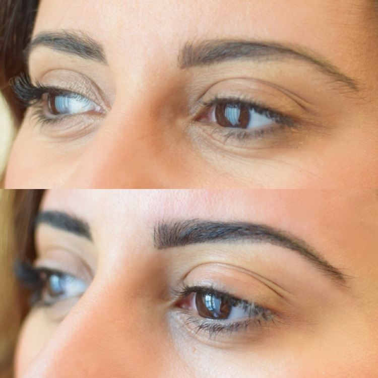 le sourcil hd brows lovalinda x events story x linda avant aprs de profil - Coloration Sourcil