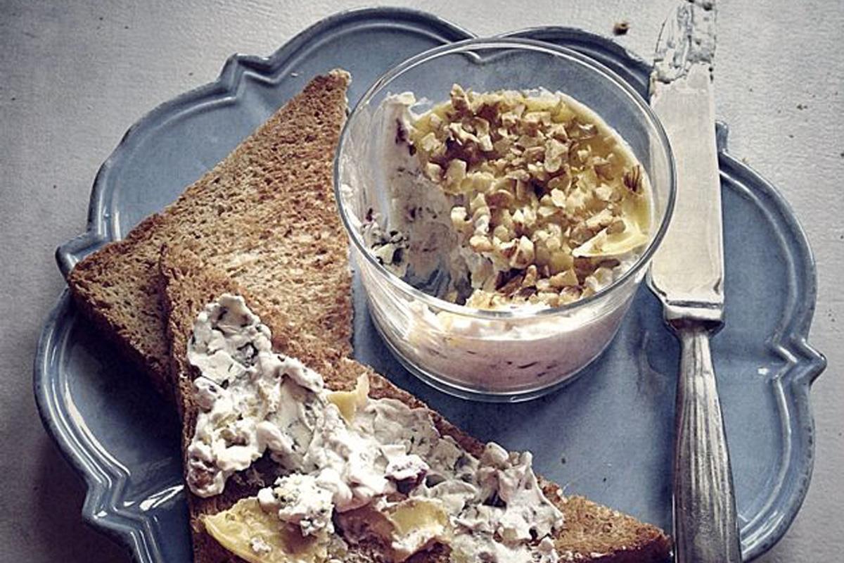 La pâte à tartiner au bleu par Julia Vale Marchier | LovaLinda