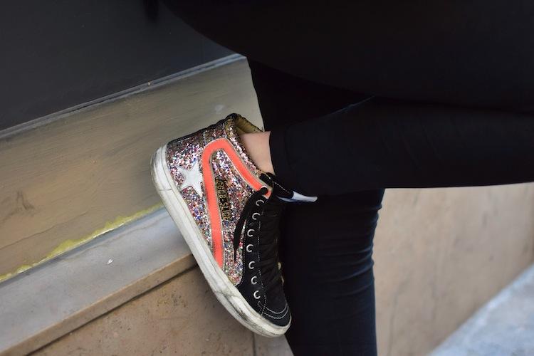 Le legging est in | LovaLinda x Streetstyle x Golden Goose Sneakers