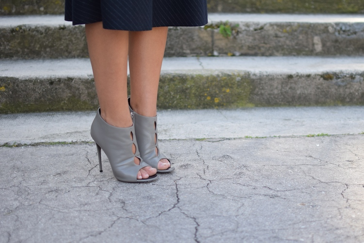 L'hiver au printemps | Lovalinda x Blog Mode Lookbook Marseille x Jupe Zara x Sandales Giuseppe Zanotti Design