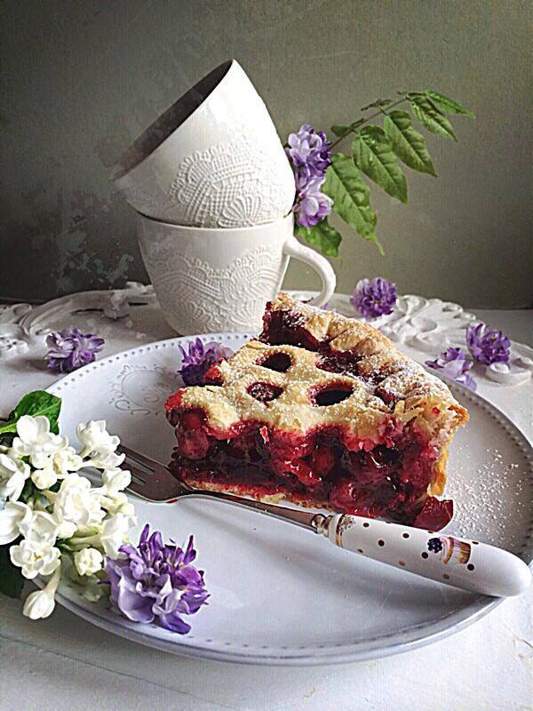 La cherry pie par Julia Vale Marchier | LovaLinda x Blog Cuisine Marseille