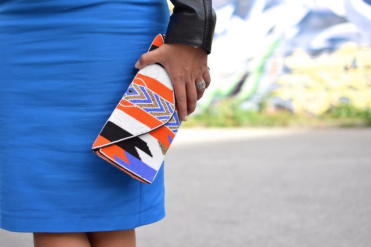 Le détail de taille | LovaLinda x Blog Mode Marseille x Jupe Zara x Pochette Ba&sh