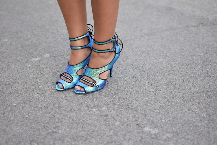 Le détail de taille | LovaLinda x Blog Mode Marseille x Sandales Bailey Tabitha Simmons