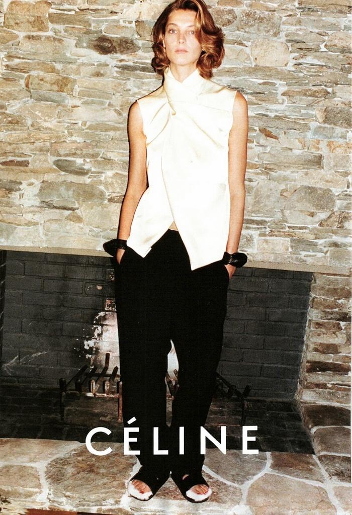 Les tatanes de blédarde |Studded-Hearts-Celine-Spring-2013-Campaign-Daria-Werbowy-Jurgen-Teller-2
