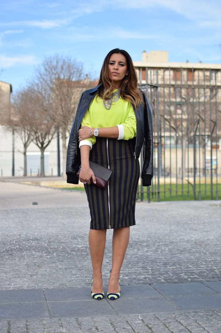 L'ultra rayures | Lovalinda x Blog Mode Marseille Lookbook x Zara x Asos x Tara Jarmon x Nasty Gal x Pochette Céline x Nicholas Kirkwood