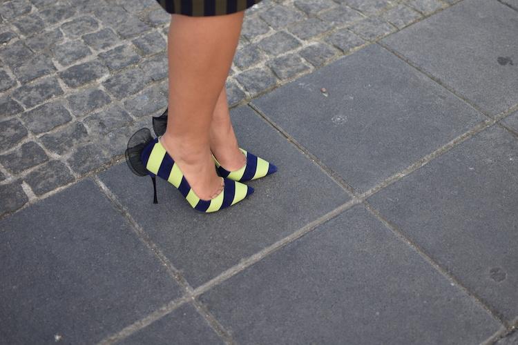 L'ultra rayures | Lovalinda x Blog Mode Marseille Lookbook x Zara x x Céline x Nicholas Kirkwood