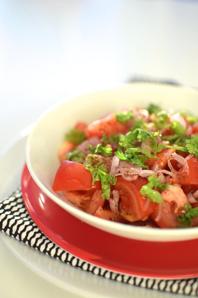 La salade de tomates au sumac | LovaLinda Blog Cuisine Marseille x Recette Ramadan 2014