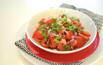 Les tomates au sumac