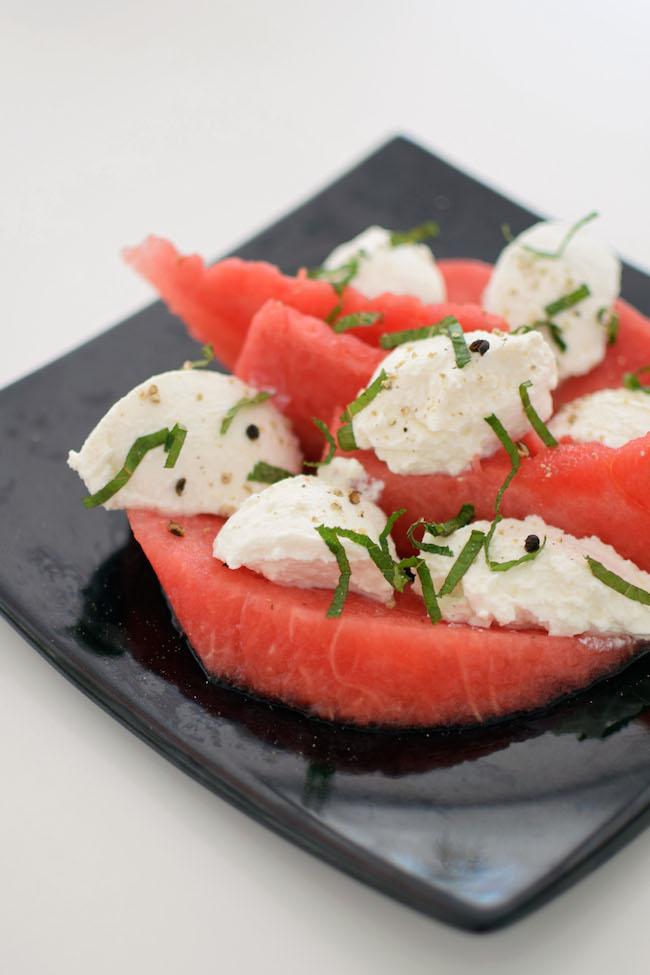 La salade pastèque-ricotta à la menthe | LovaLinda x Blog Cuisine Marseille x Ramadan 2014