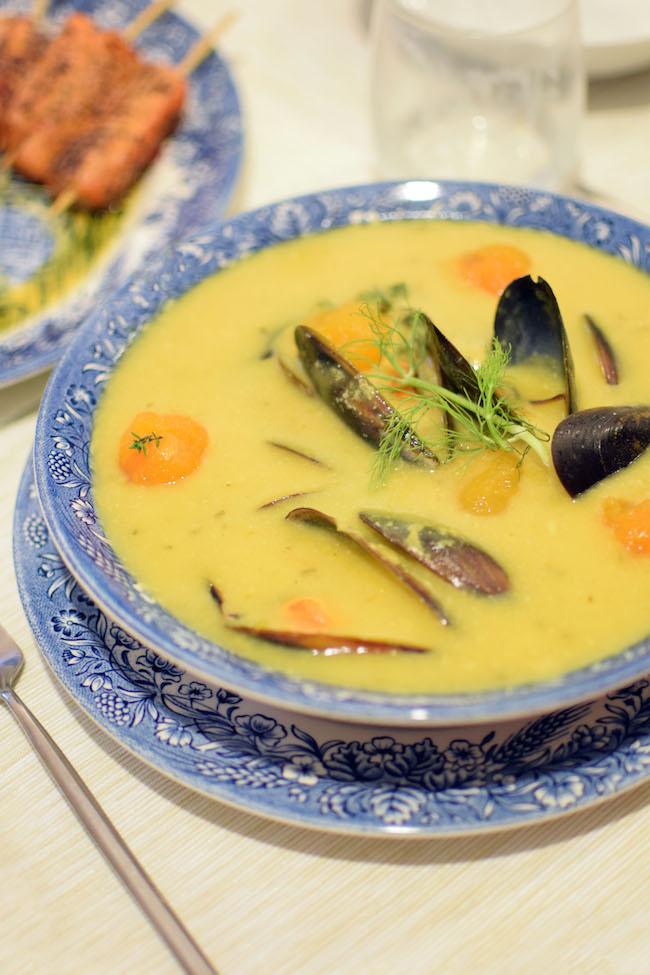 La soupe de moules | LovaLinda x Blog Cuisine Marseille x Recette Ramadan 2014