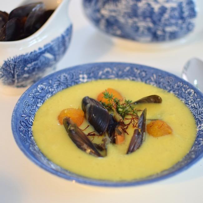 La soupe de moules, fenouil et billes de courge | LovaLinda x Blog Cuisine Marseille x Recette Ramadan 2014