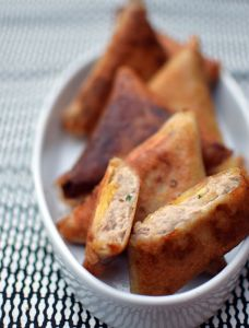 Les briouates thon et fromage