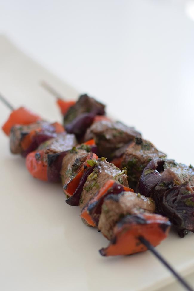 Les brochettes de bœuf au soja | LovaLinda x Blog Cuisine Marseille