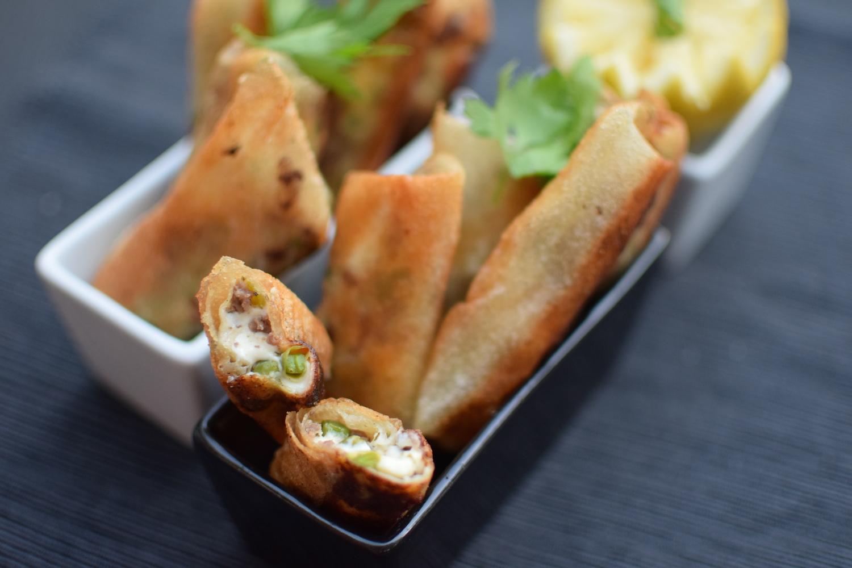 Les cigares de viande hachée et fromage | Lovalinda
