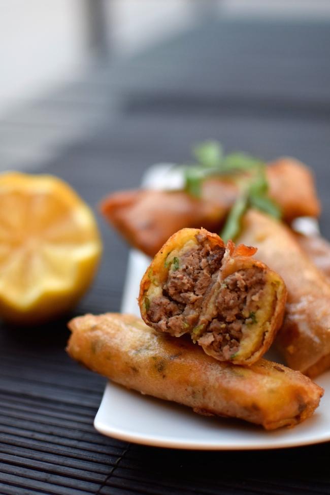 Les cigares façon hachis parmentier | Lovalinda x Blog Cuisine Marseille x Recette Ramadan 2014