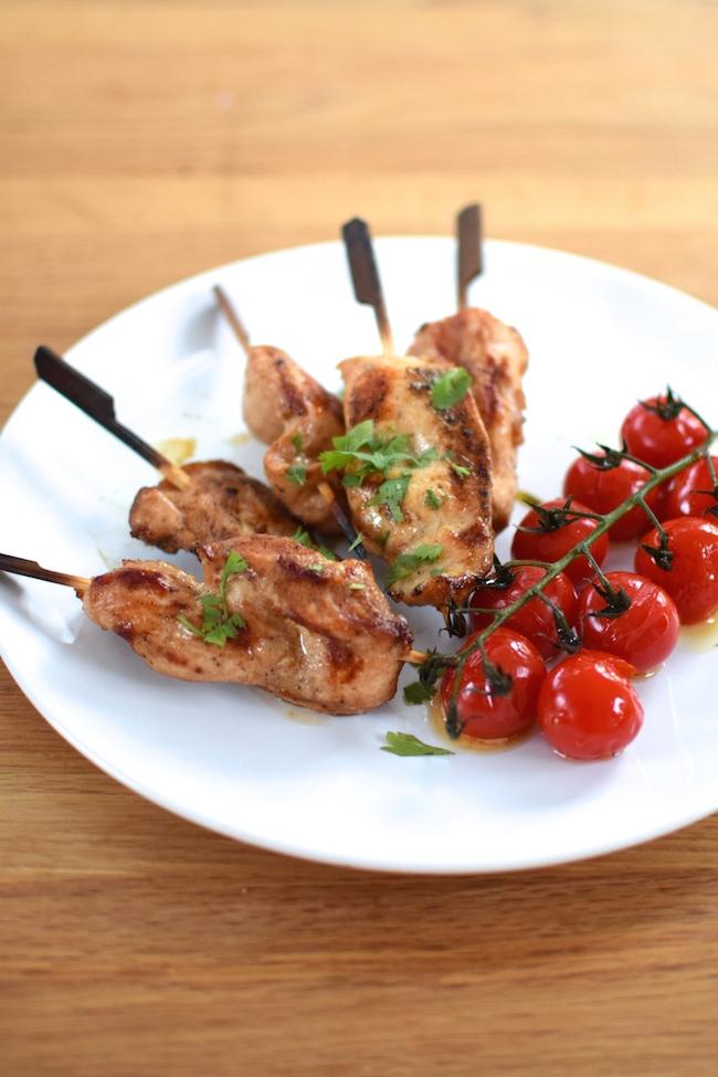 Les kebabs de poulet et tomates cerise | LovaLinda x Blog Cuisine Marseille x Recette Ramadan 2014