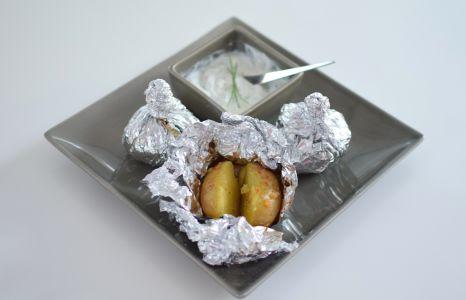 Les pommes de terre en chemise
