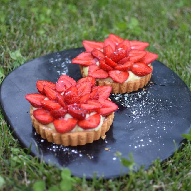 Les tartelettes aux fraises | LovaLinda x Blog Cuisine Pâtisserie Marseille x Recette Ramadan 2014