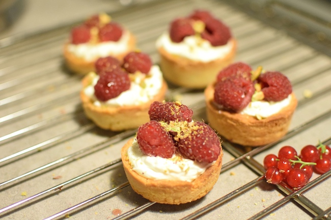 Les tartelettes mascarpone et framboises | LovaLinda | Blog Cuisine Marseille x Recette Ramadan 2014