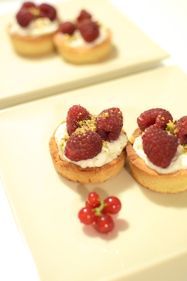 Les tartelettes mascarpone et framboises | LovaLinda x Blog Cuisine Marseille x Recette Ramadan 2014