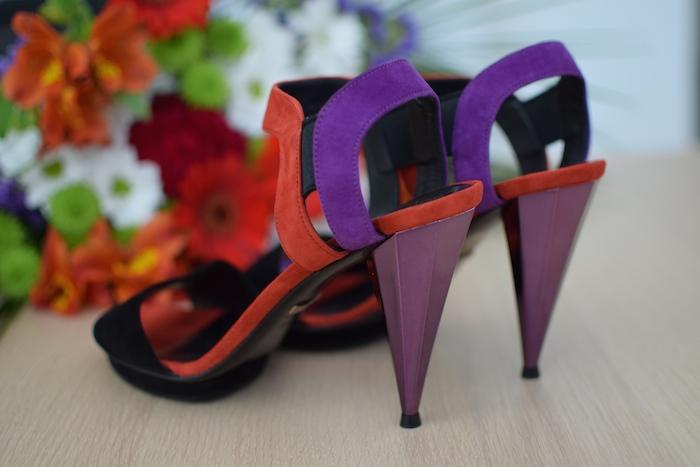 Liberty Colour-Block Sandals | Lovalinda x Gucci x Blog Mode Shopping ShoesAddict x Sandales Color-Block
