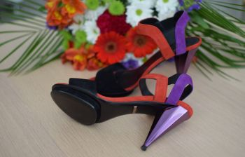 Liberty Colour-Block Sandals