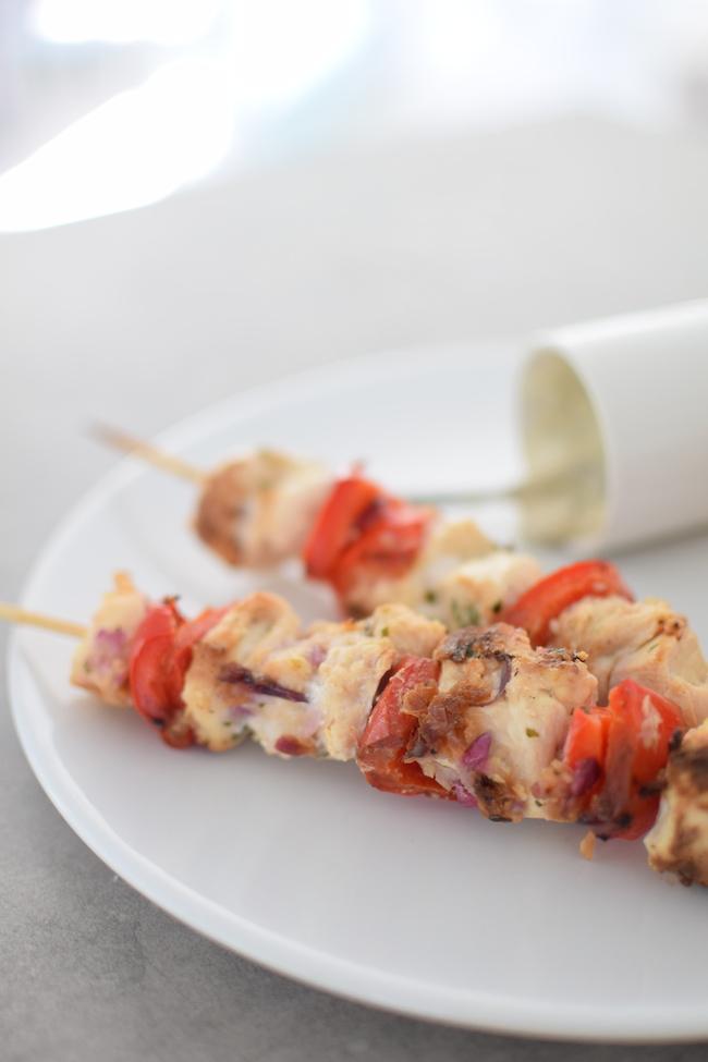 brochettes de poulet et poivrons au miel | LovaLinda x Blog Cuisine Marseille x Recette Ramadan 2014