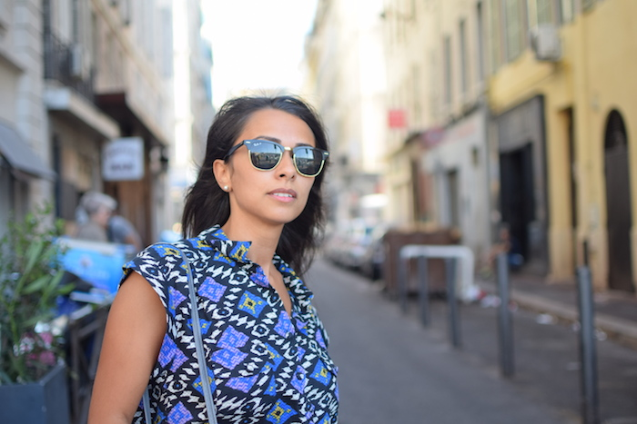 La belle inconnue du Vieux-Port | LovaLinda x StreetStyle x Blog Mode Photo Marseille x RayBan