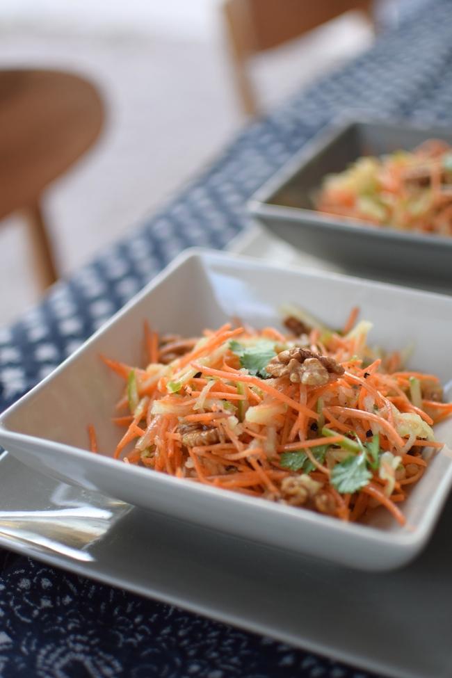 La salade de carottes multivitaminée | LovaLinda x Blog Cuisine Entrée