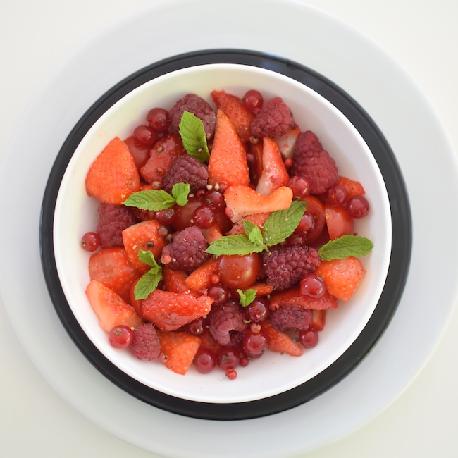 La salade rouge rubis | LovaLinda | Blog Recettes Cuisine Marseille