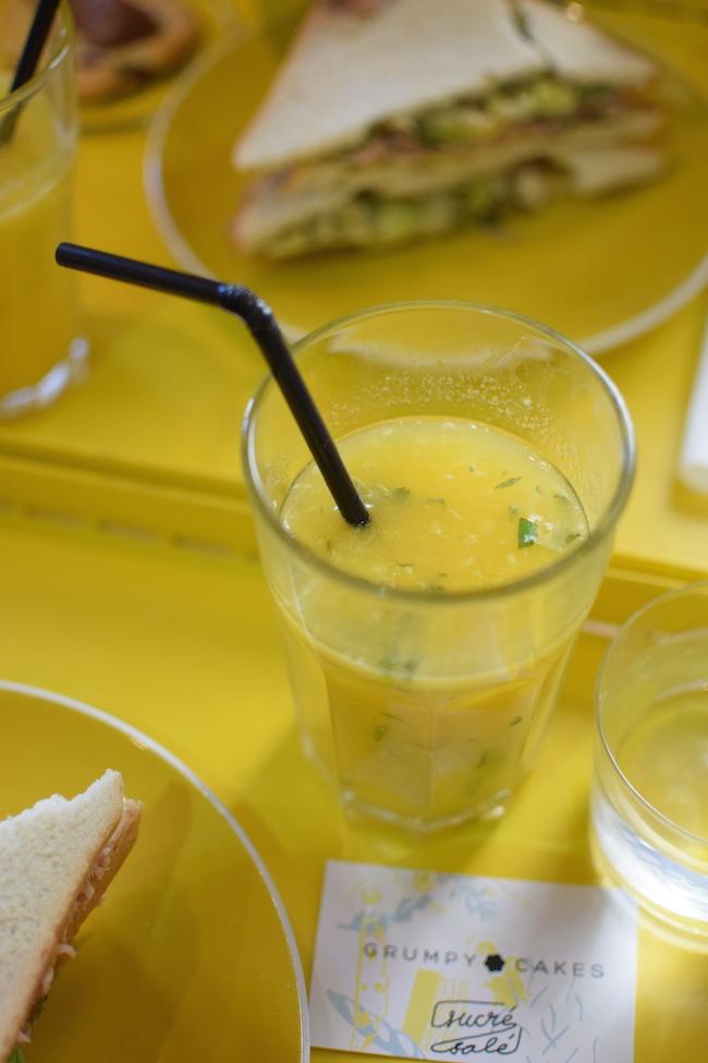 Le Grumpycakes | LovaLinda | Blog Lifestyle Marseille | Jus d'Orange x Menthe