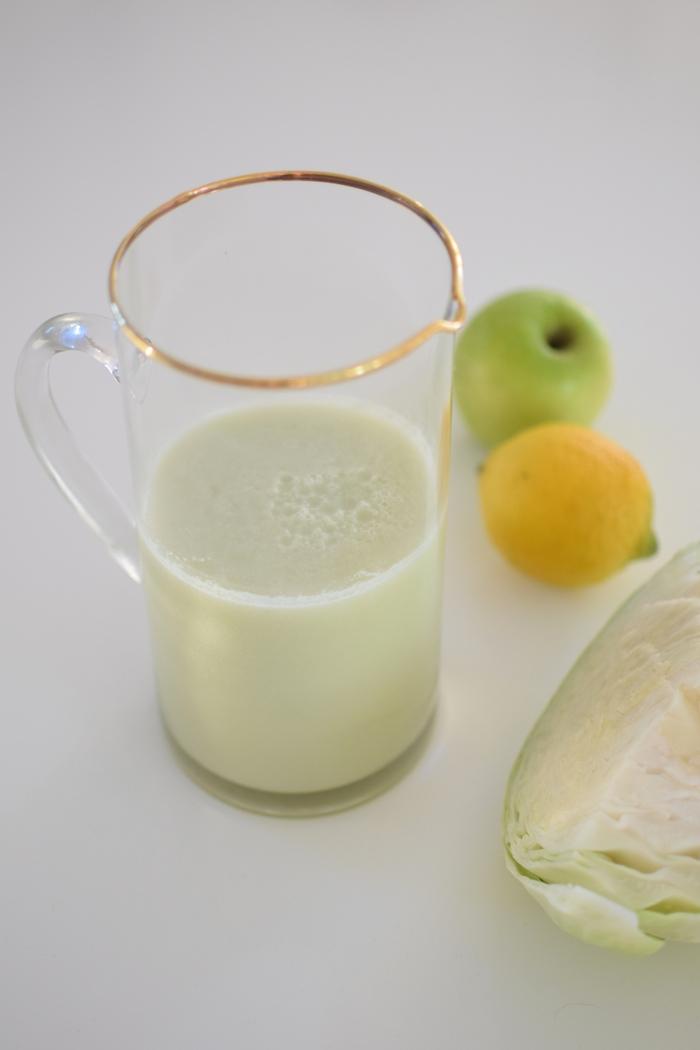 Le smoothie chou blanc | Lovalinda x Boisson Detox x Chou Pomme Citron