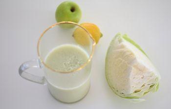 Le smoothie au chou blanc