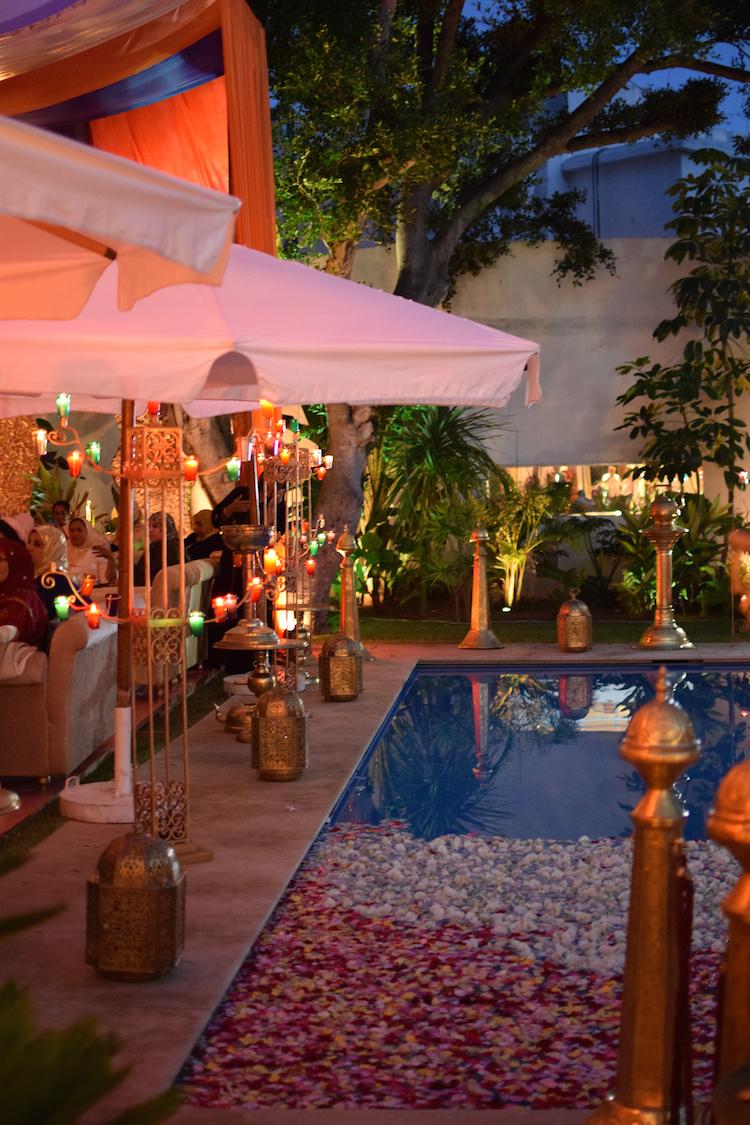 Le soleil au mariage | Le halal de Sanaa et Karim à Casablanca x Blog Photo Mode Lifestyle x Orient Maghreb Bollywood 24