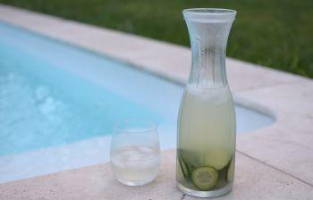 L'eau de concombre