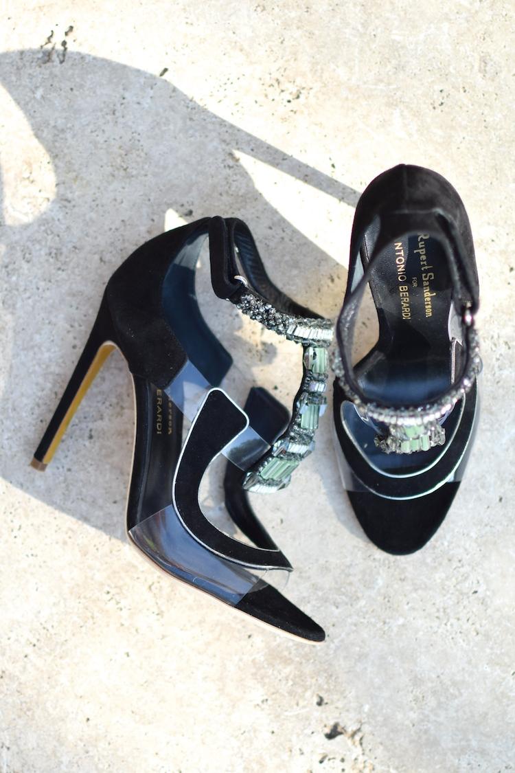 Les Apex de Rupert Sanderson et Antonio Berardi | LovaLinda x Blog Mode Shopping x Sandales de Luxe