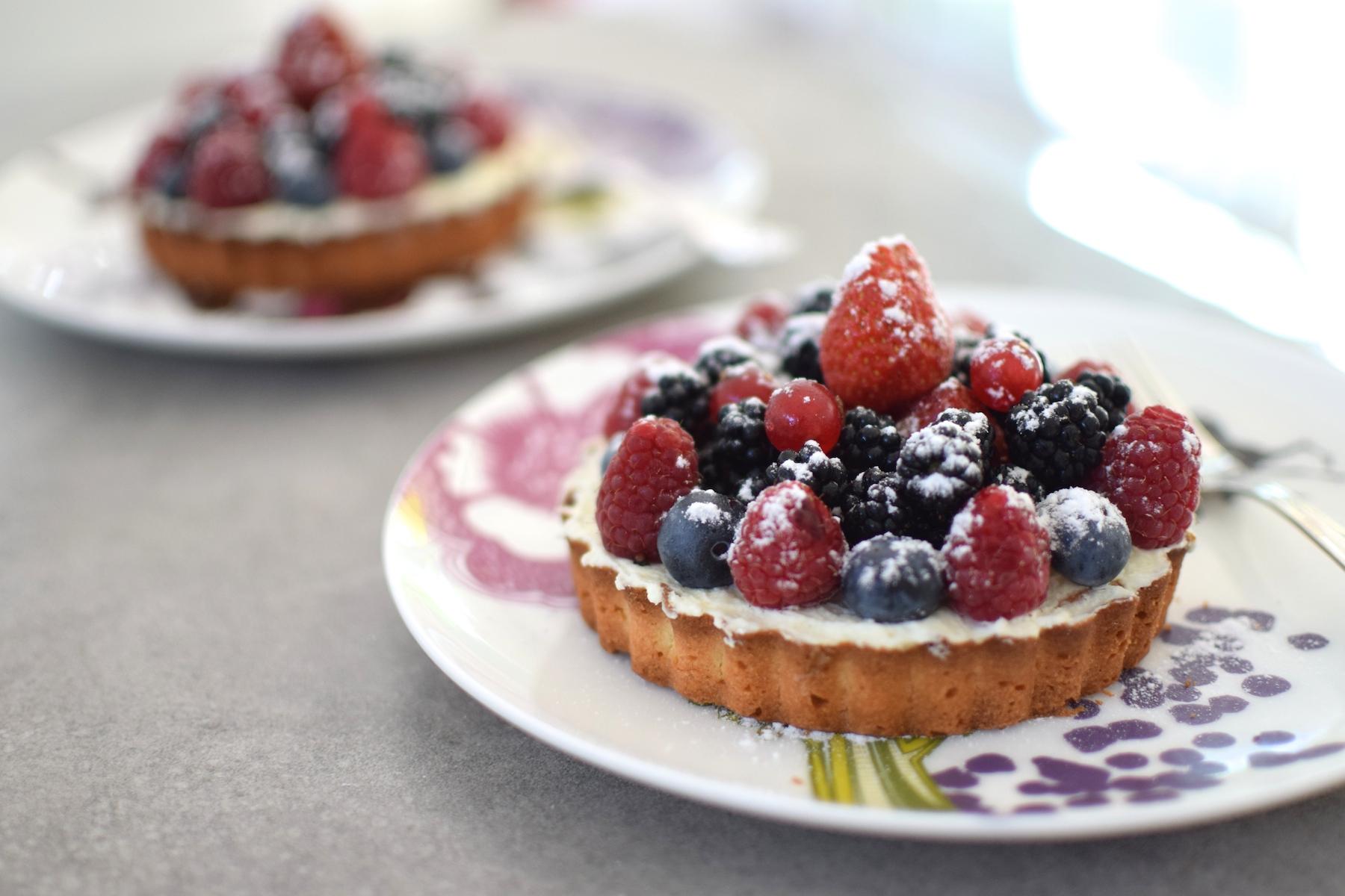 """Résultat de recherche d'images pour """"tartelette fruits rouges"""""""